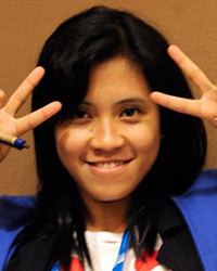 Student Volunteers Chair Rianti Hidayat